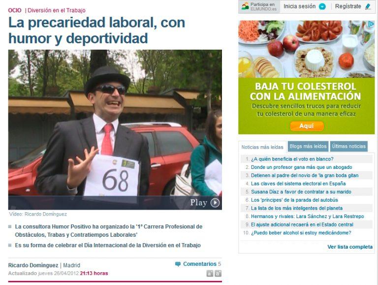 Redactor freelance El Mundo: humor