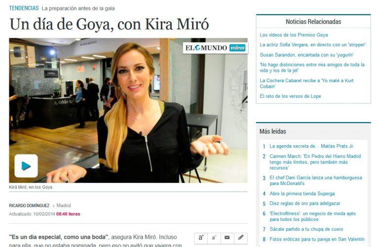 Redactor freelance El Mundo Kira Miró